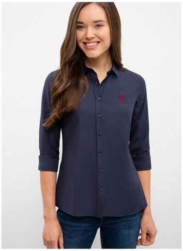 U.S. Polo Assn. U.S. Polo Assn. Slim Fit Lacivert Gömlek Lacivert
